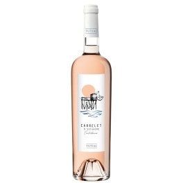 "Carrelet d'Estuaire "" Confidences"" Bordeaux rosé 2018"